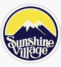 Sunshine Village Banff Vintage Ski Lake Louise Sticker