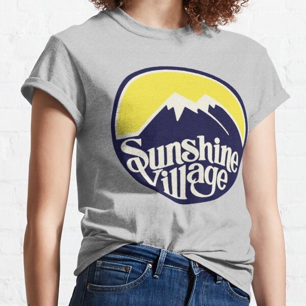 Sunshine Village Banff Vintage Ski Lake Louise Classic T-Shirt