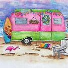 Beachcomber Camper by Jeri Stunkard