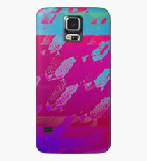 Fuchsia Abstract Case/Skin for Samsung Galaxy
