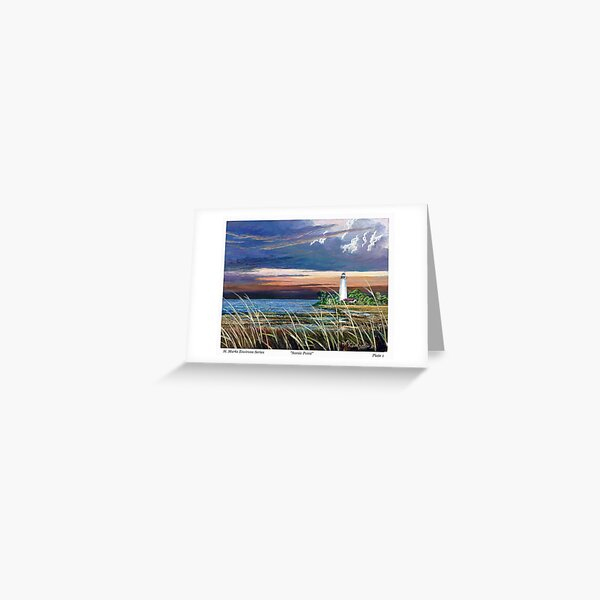 Scenic Point - St. Marks Light Greeting Card