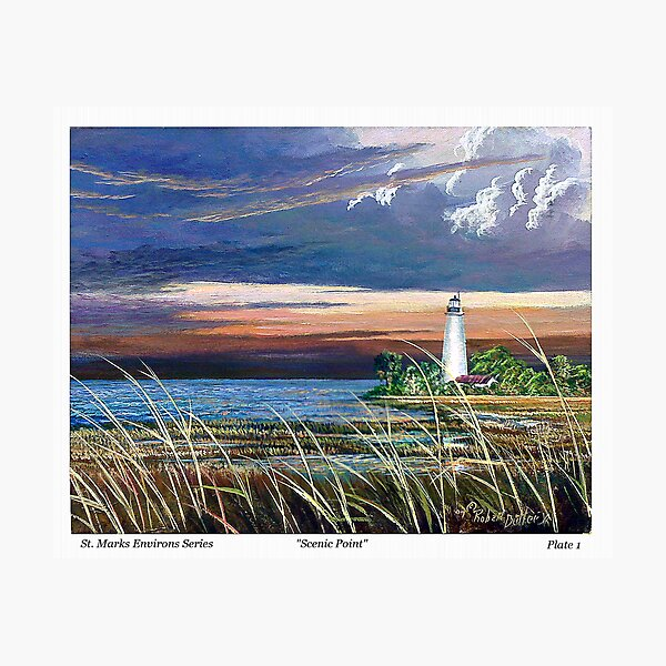 Scenic Point - St. Marks Light Photographic Print