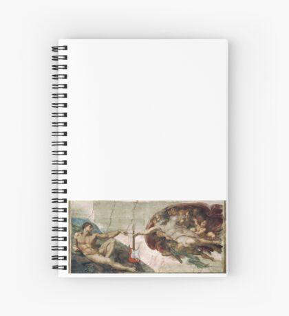 Guitar God Spiral Notebook