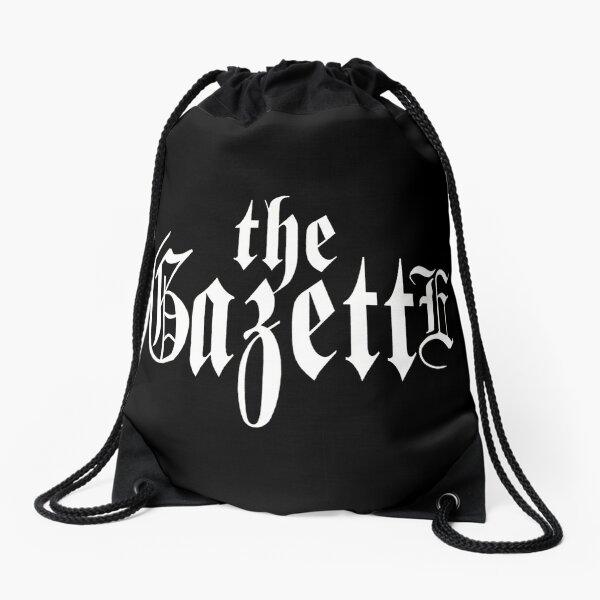 THE GAZETTE - LOGO BLACK Drawstring Bag