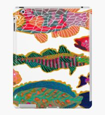 Colorful Abstract Fish Art  iPad Case/Skin