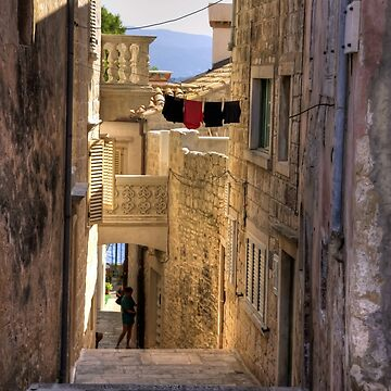 Korčula Alleyway by tomg