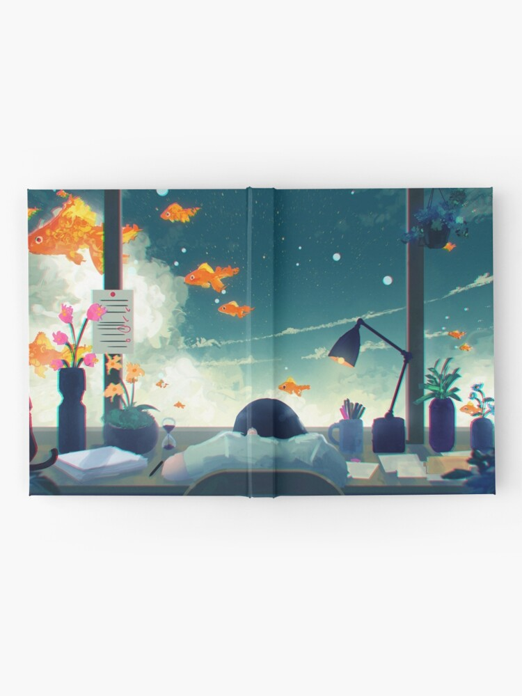 Alternate view of Dreaming... Hardcover Journal