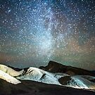 milky way on dark sky over death valley by ALEX GRICHENKO