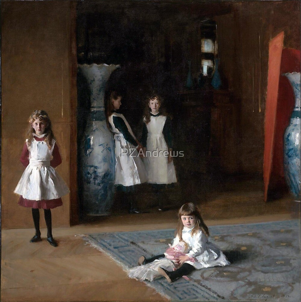 The Daughters of Edward Darley Boit (John Singer Sargent, 1882) by PZAndrews