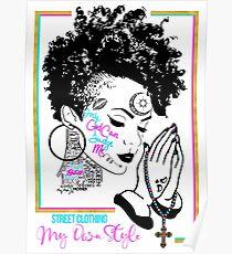 Tupac v.3.1 Women Poster