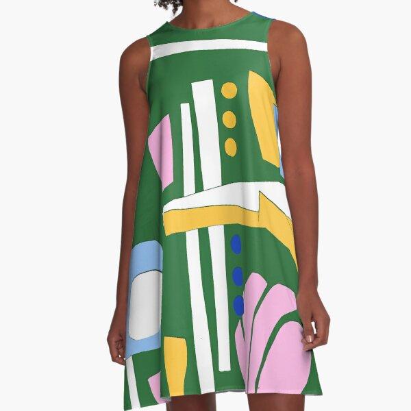 Greenwood A-Line Dress