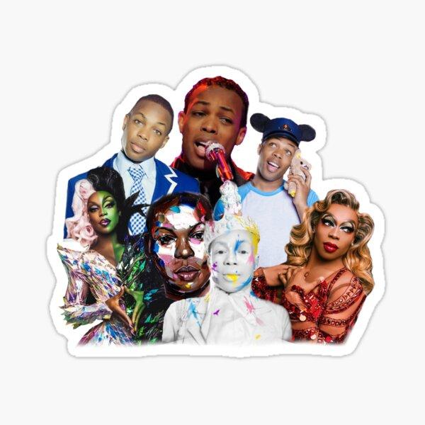 Todrick Hall Collage Work Sticker