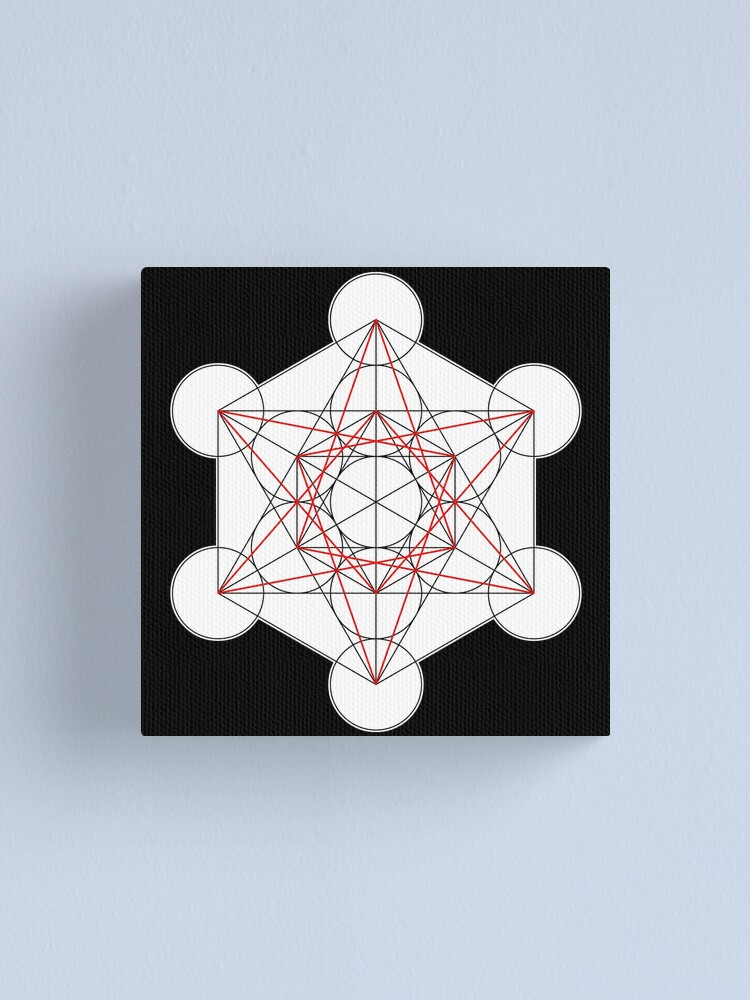 Alternate view of Metatron's Cube 001 Canvas Print