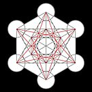 Metatron's Cube 001 by Rupert Russell