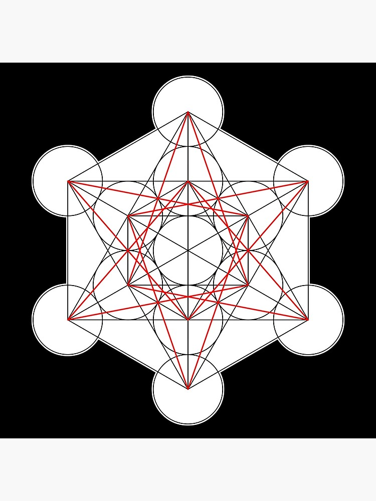 Metatron's Cube 001 by rupertrussell