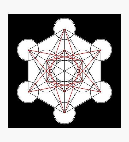Metatron's Cube 001 Photographic Print