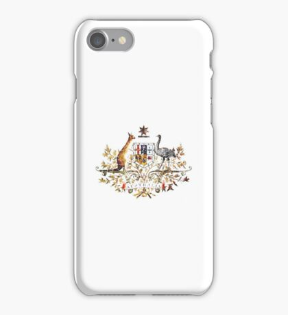 Aussie Coat of Arms iPhone Case/Skin