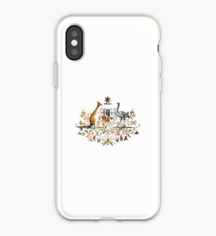 Aussie Coat of Arms iPhone Case