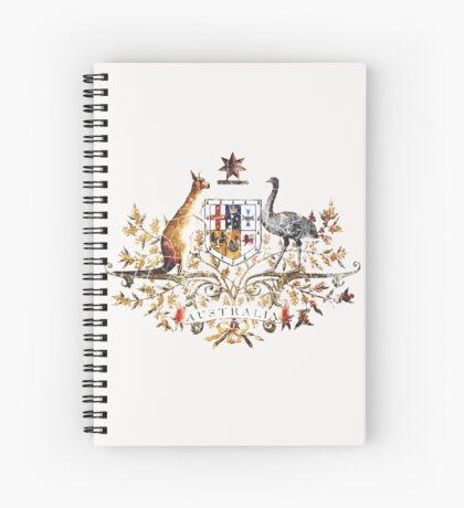 Aussie Coat of Arms Spiral Notebook