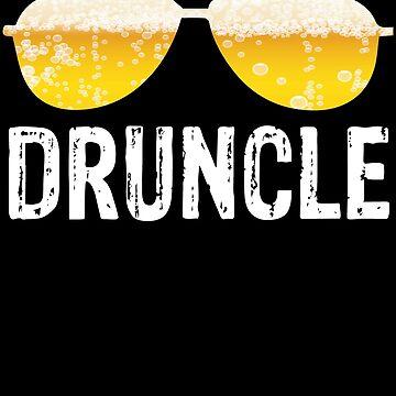 Druncle Funny Uncle  by edgyshop