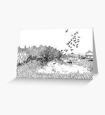 Nisqually Wildlife Refuge Grußkarte