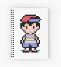 Ness from Earthbound Spiral Notebook