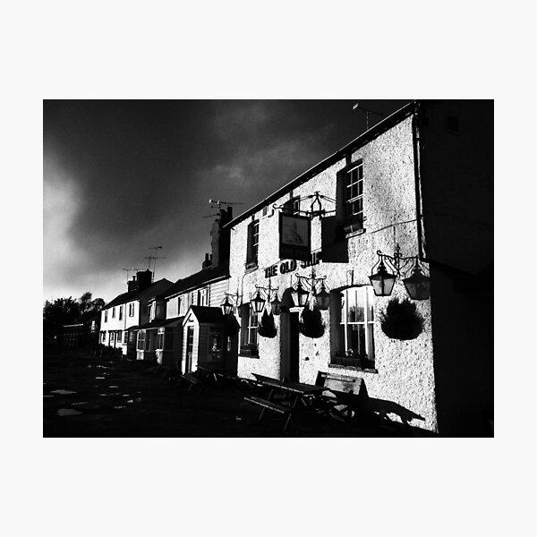 Old Ship Inn, Heybridge - Mono Photographic Print