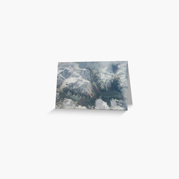 Snow Capped Greeting Card