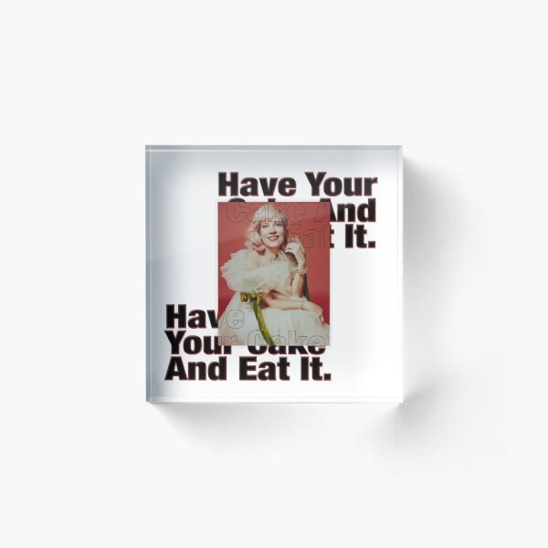 Lily Allen - Have Your Cake And Eat It. Acrylic Block