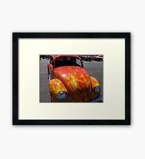 burn for you Framed Print