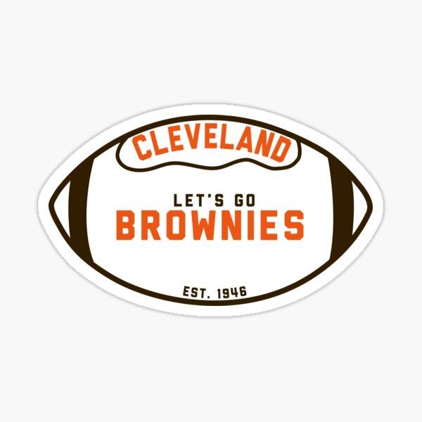 Let's Go Brownies Sticker