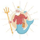 Hipster Poseidon  by strangethingsA