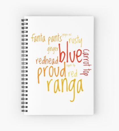 Ranga! Spiral Notebook