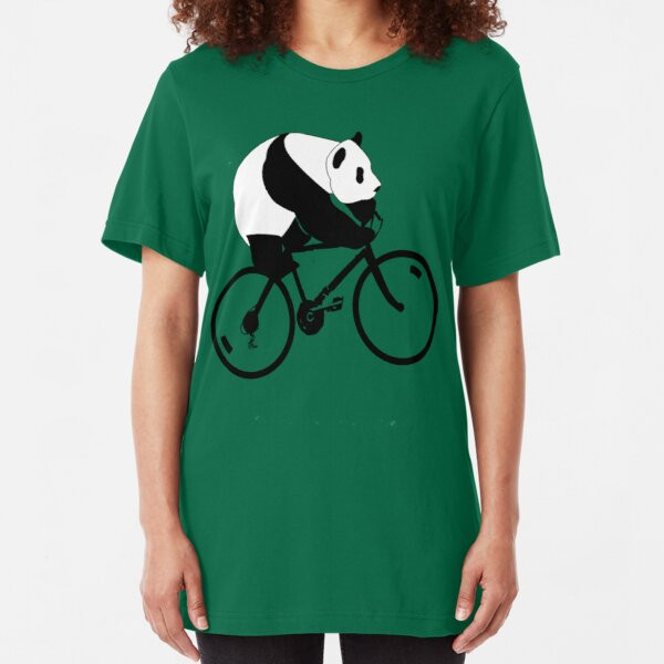 Panda Down Under 2 Slim Fit T-Shirt