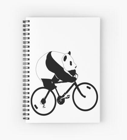 Panda Down Under 2 Spiral Notebook