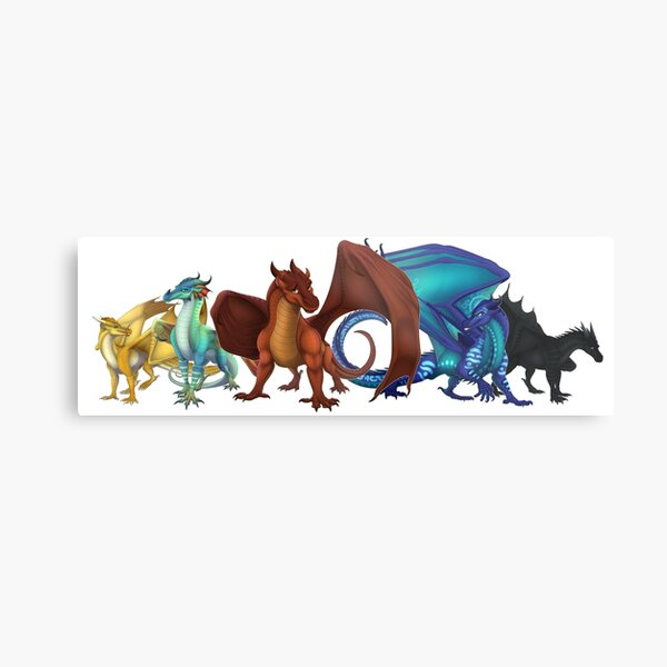 Wings of Fire - Dragonets of Destiny Metal Print