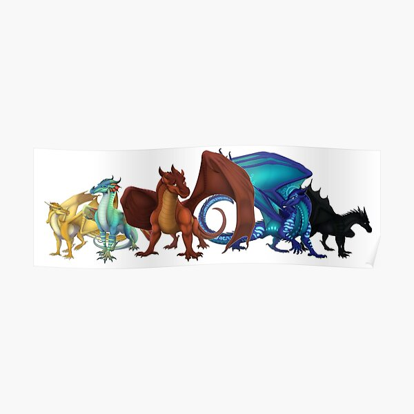 Wings of Fire - Dragonets of Destiny Poster