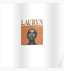 LAURYN HILL FUGEES 1990 VINTAGE INSPIRED DESIGN Poster