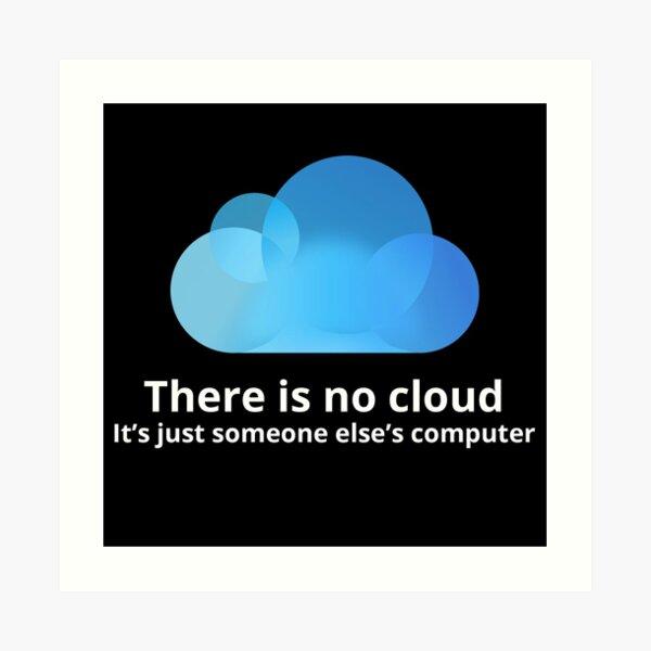 No hay nube Lámina artística