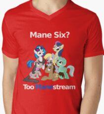 Too Manestream Mens V-Neck T-Shirt
