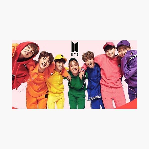 BTS Poster Photographic Print
