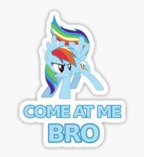 Dash At Me Bro Sticker
