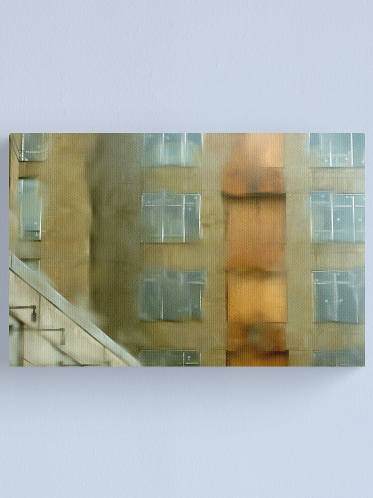 Alternate view of No Construction Today Canvas Print