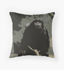 The Cheeky Monkey Throw Pillow