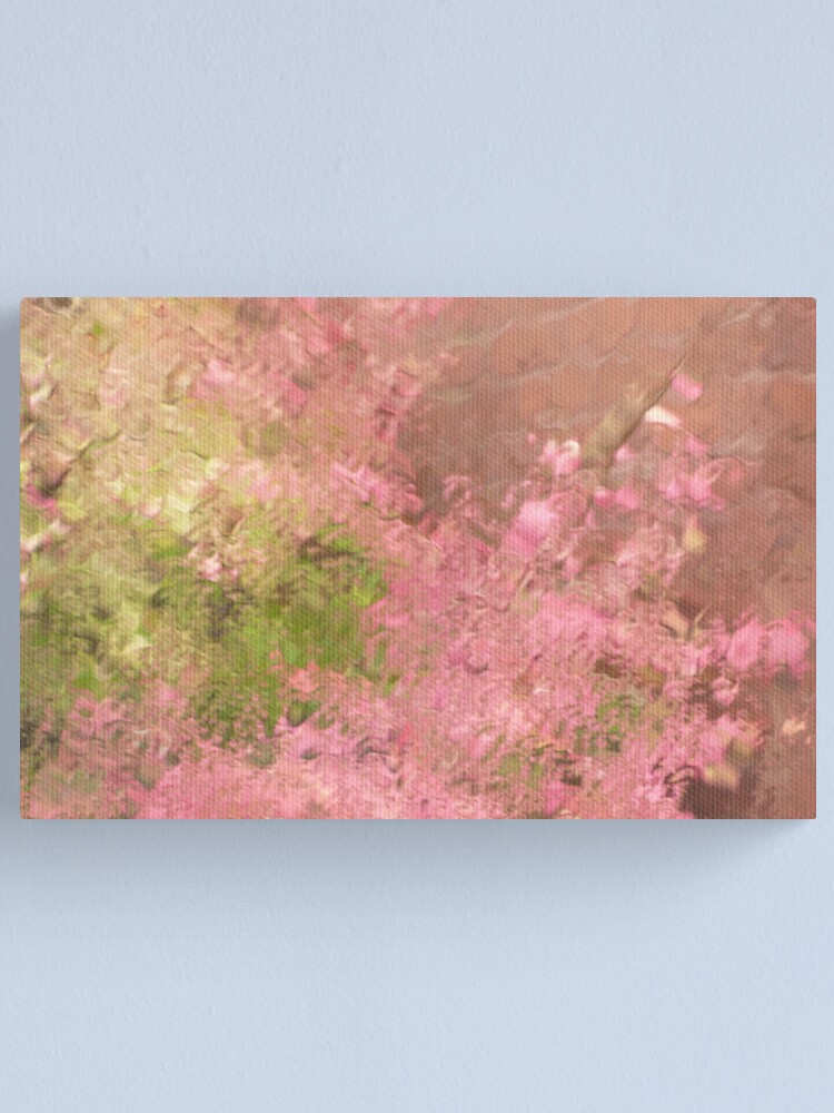 Alternate view of Pink Rain Canvas Print