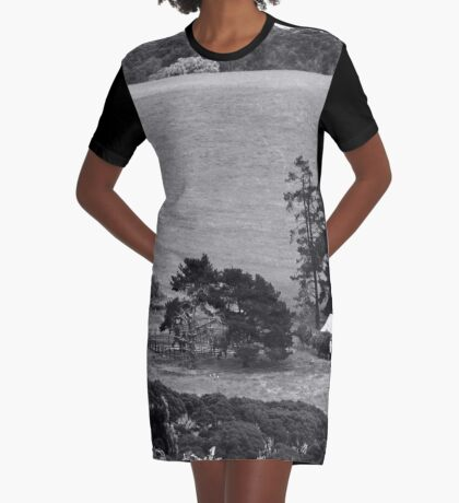 House on the hill. Graphic T-Shirt Dress