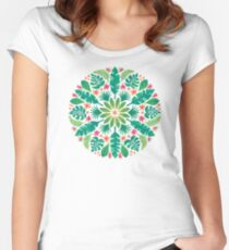 Tropical Sun Women's Fitted Scoop T-Shirt