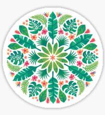 Tropical Sun Sticker