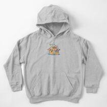 Sudadera con capucha para niños Familia Koopa