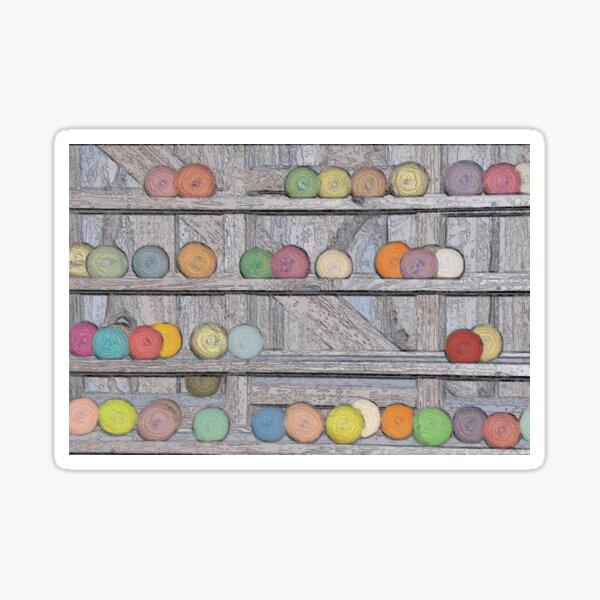 Balls of Yarn Sticker